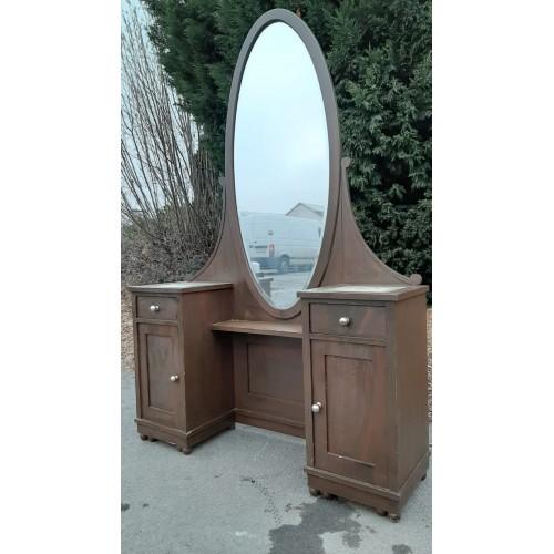 Starožitná Galerka Toaletka Výklopné Zrcadlo Noční stolek