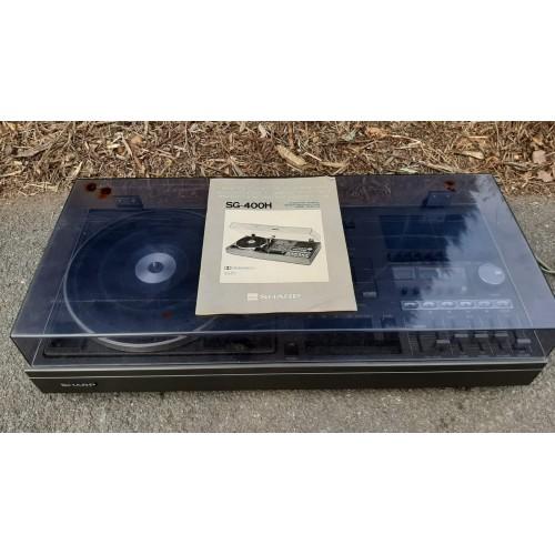 Gramofon Kazetový Přehrávač Sharp RETRO Stereo Hifi