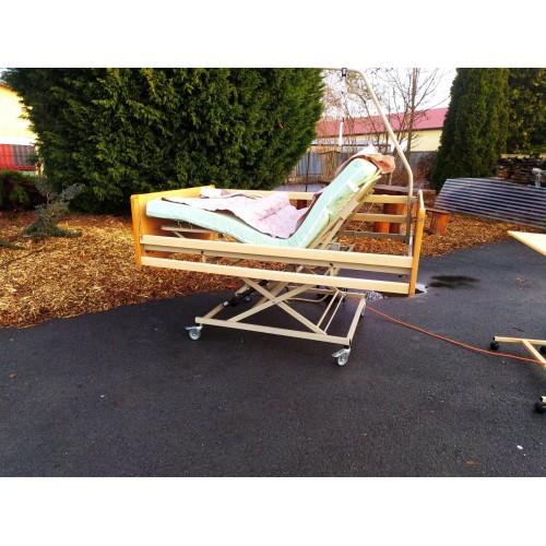 Polohovací Elektrická Invalidní Postel + Matrace
