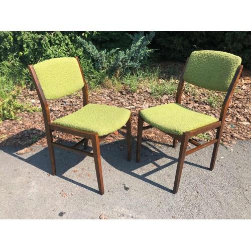 2 x židle RETRO VINTAGE 70. léta