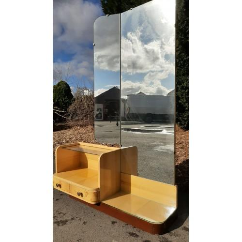 Galerka Toaletka Zrcadlo 70.-80. léta RETRO