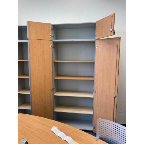 Kancelářský nábytek Komoda Skříň dvoudílná Kartotéka