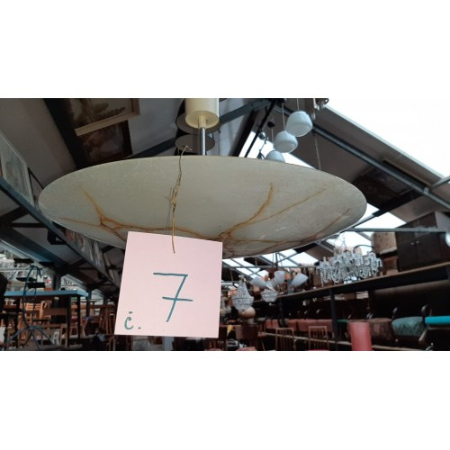 Lustr Světlo Osvětlení UFO Talíř Brusel RETRO č. 7