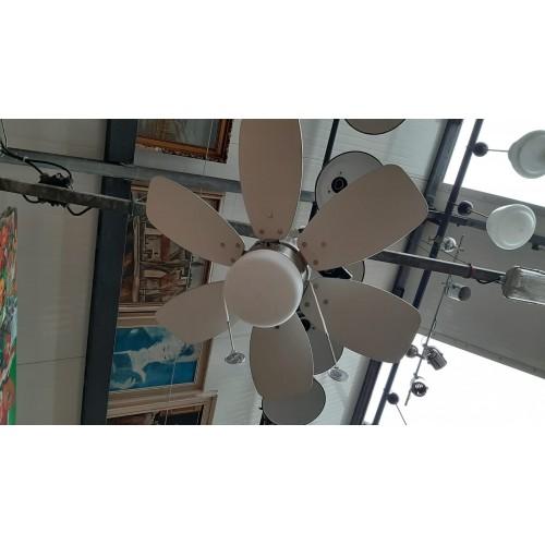 Osvětlení Stropní Lustr Světlo + Ventilátor Větrák