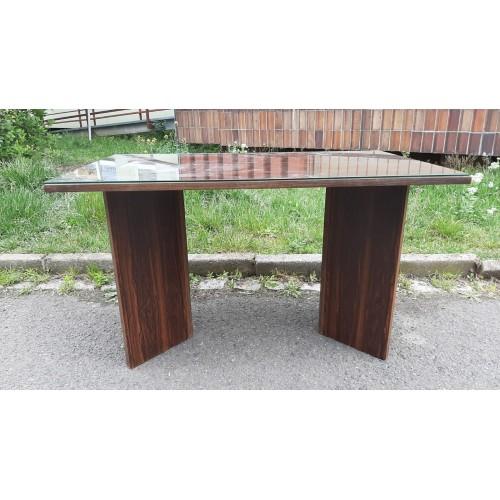 Mahagonový Konferenční Stůl Stolek RETRO