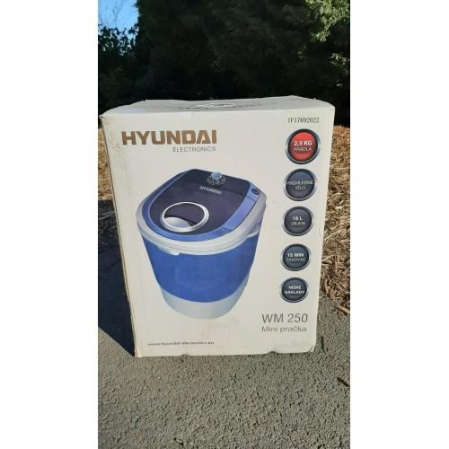 Cestovní MINI Pračka Hyundai na 2,5kg prádla
