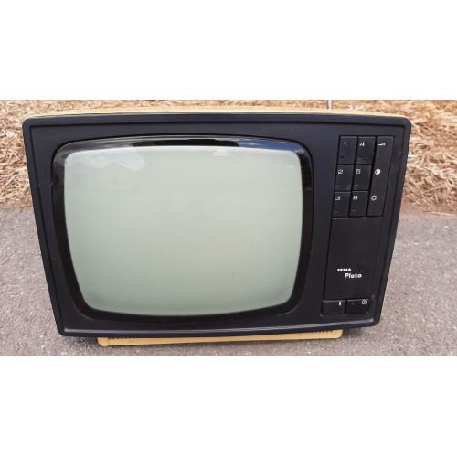 Černobílá Televize Televizor TESLA Pluto Vintage RETRO Socialismus