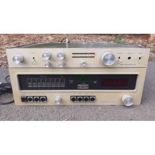 Staré Rádio Zesilovač 60.-70. léta RETRO Vintage
