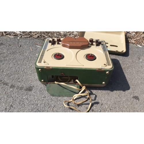 Starožitný Přehrávač Magnetofon TESLA Vintage RETRO