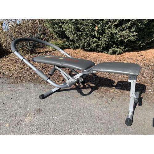 Posilovací stroj na břicho, lavice King Gym