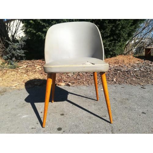 Starožitná Židle OSWALD 60. - 70. léta Retro