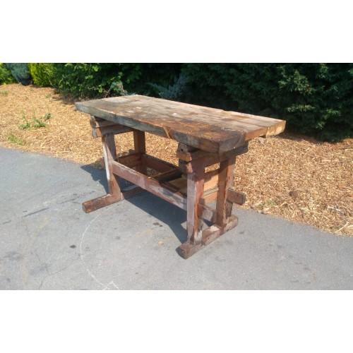 Hoblice Truhlářský ponk Pracovní stůl - starý