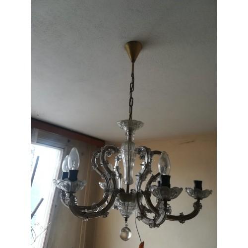 Starožitný Lustr Světlo Lampa Osvětlení RETRO