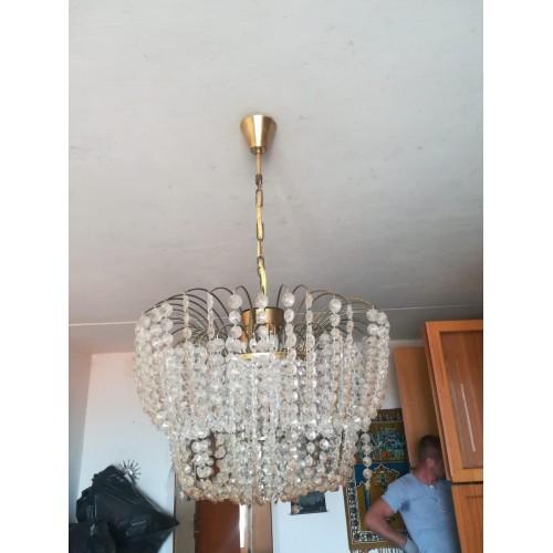 Starožitný Lustr Lampa Světlo Osvětlení RETRO