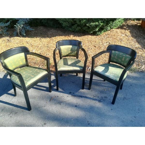 3x Křeslo Křesílko Židle Kvalitní Výrobek RETRO R´