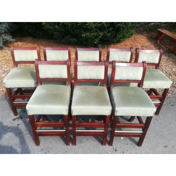 8x Malá Barová Židle Barovka