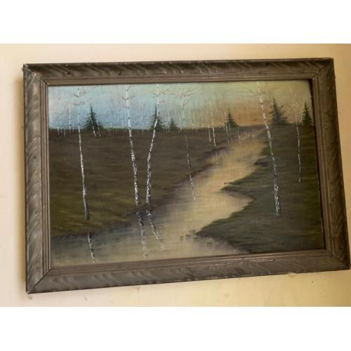 Obraz S. Tofanov - olej na plátně