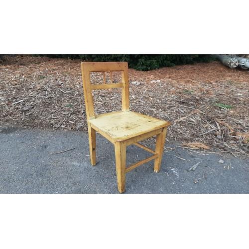 Židle Židlička Dětská Jídelní Dřevěná RETRO